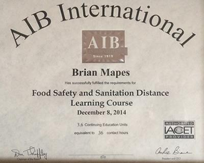 AIB International Learning Course