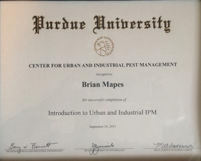 Urban and Industrial Pest Management