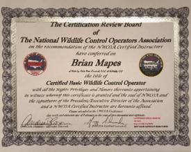 NCWOA Certification