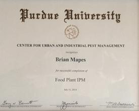 Purdue University Pest Management